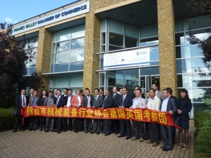 Thames Valley attracts Chinese business