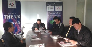 Dr Kegang Wu hosts meeting with Vice Mayor of Shantou