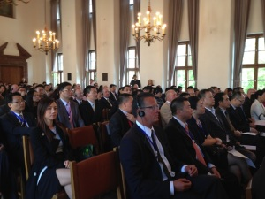 Guangdong Delegations and  EU companies at the launch event