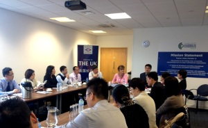 Ruth Bagley, CEO, Slough Borough Council, was invited to present the case of Thames Valley and Slough to the delegation.